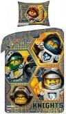 LEGO Dekbedovertrek Nexo Knights 2-in-1 Hero Knights