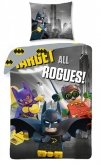 LEGO Dekbedovertrek Batman 2-in-1 Target all Rogues!