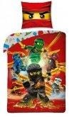 LEGO Dekbedovertrek Ninjago 6 Ninja's 2-in-1
