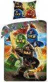 LEGO Dekbedovertrek Ninjago 4 Ninja's 2-in-1