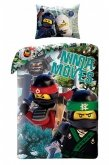 LEGO Dekbedovertrek Ninjago Moves 2-in-1
