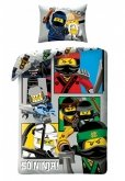 LEGO Dekbedovertrek Ninjago 2-in-1 So Ninja