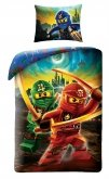 LEGO Dekbedovertrek Ninjago 2-in-1 Kai & Lloyd