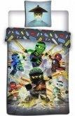 LEGO Dekbedovertrek Ninjago Gouden Zwaarden