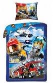 LEGO Dekbedovertrek City Brandweer