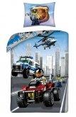 LEGO Dekbedovertrek City Politie