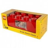 LEGO Alarm Clock Brick 2x4 RED