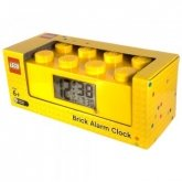 LEGO Alarm CLock Brick 2x4 YELLOW