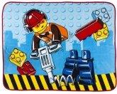 LEGO Fleece Blanket City Constuction