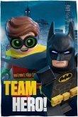 LEGO Fleece Blanket Batman Movie Team Hero!