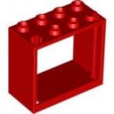 LEGO Frame 2x4x3 ROOD (10 stuks)