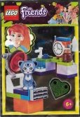 LEGO Friends  Animal Clinic with Sweet Kitten Chico(Polybag)