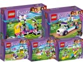 LEGO Friends Puppy Collectie