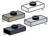 LEGO Jumper Plates (Service Pack)