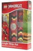 LEGO Kinderhorloge Minifiguur Link Jungle Ninja Kai