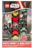 LEGO Kinderhorloge Star Wars Darth Vader & Boba Fett