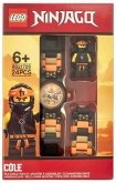 LEGO Kinderhorloge Minifiguur Link Ninjago Cole