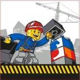 LEGO Kussen City Demolotion