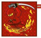 LEGO Kussen Ninjago Fire