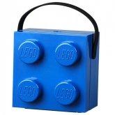 LEGO Lunchbox met Hendel BLAUW
