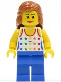 LEGO Mother with Star Shirt (TWN129)