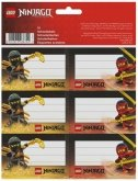 LEGO Labels Ninjago Lloyd and Kai