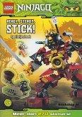 LEGO Ninjago Spelletjesboek met Stickers