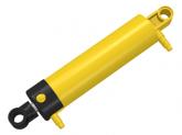 LEGO Pneumatische Cylinder V2 2x11 GEEL