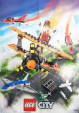 LEGO Poster City Vliegshow GRATIS