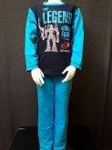 LEGO Bionicle Pyjama BLAUW (August 730 - Maat 110)