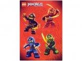 LEGO Stickervel Ninjago 2015 GRATIS