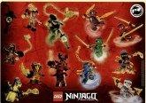 LEGO Stickervel Ninjago 2016 GRATIS