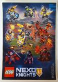 LEGO Stickervel Nexo Knights GRATIS