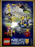LEGO Stickervel Nexo Knights Battle GRATIS
