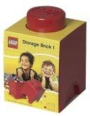 LEGO Storage Brick 1 ROOD