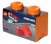 LEGO Storage Brick 2 ORANJE