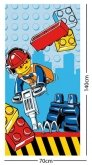 LEGO Beach Towel City Construction