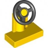 LEGO Steering Wheel 1x2 YELLOW (10 pcs)