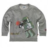 LEGO Sweater Boba Fett GRIJS (Simon 320 Maat 140)