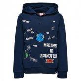 LEGO Sweater Ninjago DONKERBLAUW (Saxton 102 Maat 140)