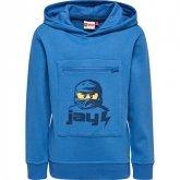 LEGO Sweater Ninjago Jay BLAUW (Saxton 602 Maat 104)