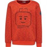 LEGO Sweater ROOD (Saxton 606 Maat 116)
