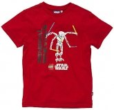 LEGO Sweatshirt Star Wars ROOD (Tom 823 - Maat 104)
