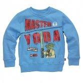 LEGO Sweatshirt Yoda BLAUW (Simon 120 Maat 140)