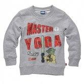 LEGO Sweatshirt Yoda GRIJS (Simon 120 Maat 140)