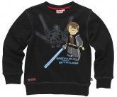 LEGO Sweatshirt Grevious VS Skywalker ZWART (Silas 110 Maat 146)