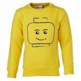 LEGO Sweatshirt GEEL (Skeet 608 Maat 122)