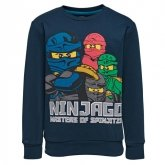 LEGO Sweatshirt DONKERBLAUW (M-72173 Maat 140)