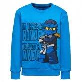 LEGO Sweatshirt BLAUW (M-72174 Maat 128)