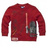 LEGO Sweatshirt Star Wars DONKER ROOD (Sami 961 - Maat 140)